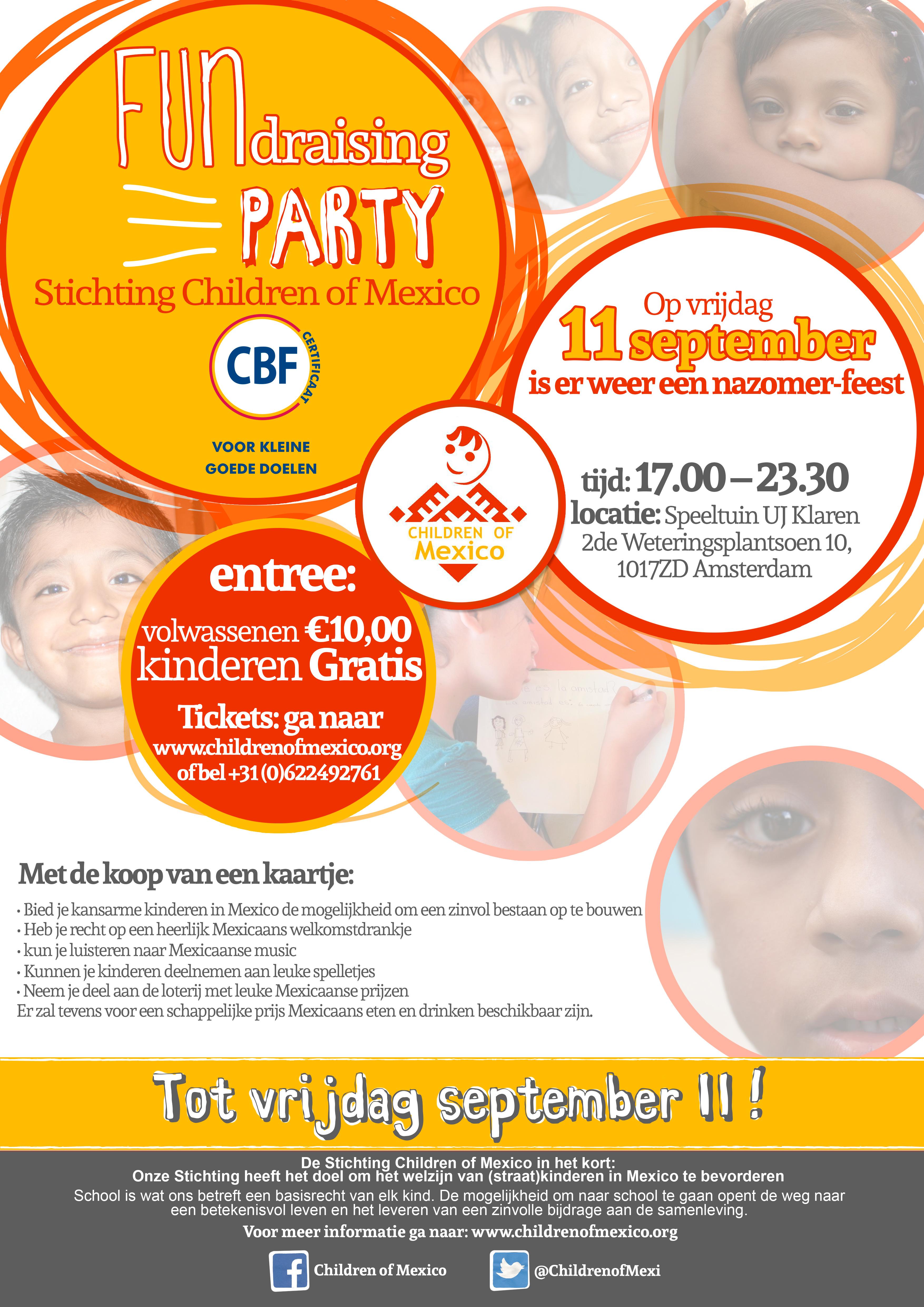 Poster FUNdraiser 11 September